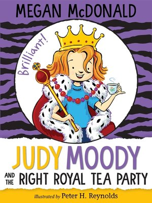 cover image of Judy Moody and the Right Royal Tea Party