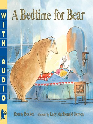 cover image of A Bedtime for Bear
