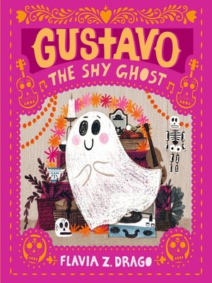cover image of Gustavo, the Shy Ghost