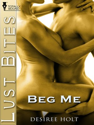 cover image of Beg Me
