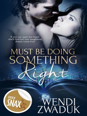 cover image of Must Be Doing Something Right