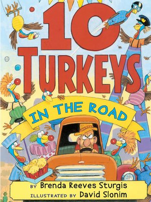 cover image of 10 Turkeys in the Road