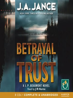 cover image of Betrayal of Trust