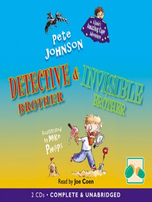 cover image of Detective Brother & Invisible Brother