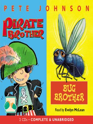 cover image of Bug Brother & Pirate Brother