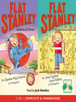 cover image of Two Flat Stanley Stories