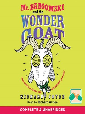cover image of Mr Baboomski and the Wonder Goat