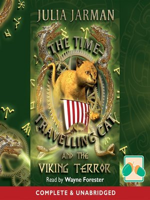 cover image of The Time-Travelling Cat and the Viking Terror