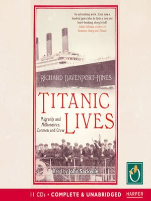 cover image of Titanic Lives