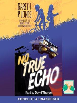 cover image of No True Echo