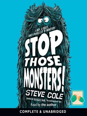 cover image of Stop Those Monsters!