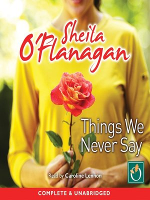 cover image of Things We Never Say