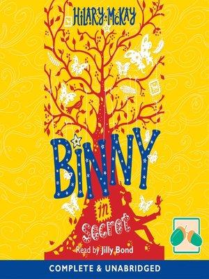 cover image of Binny in Secret