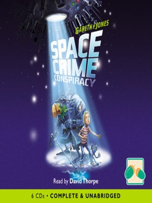 cover image of Space Crime Conspiracy