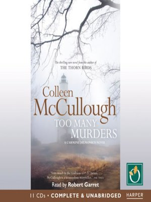 cover image of Too Many Murders