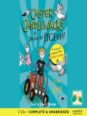 cover image of Casper Candlewacks in Death by Pigeon!