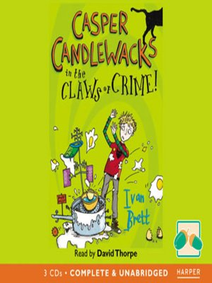 cover image of Casper Candlewacks in the Claws of Crime!