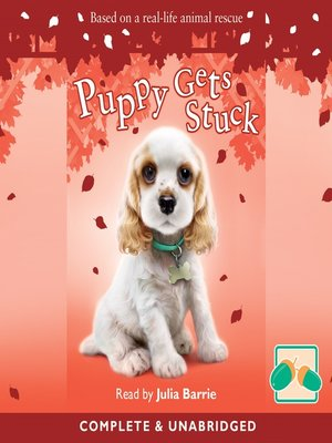 cover image of Puppy Gets Stuck