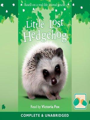 cover image of Little Lost Hedgehog