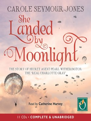 cover image of She Landed by Moonlight