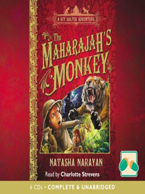 cover image of The Maharajah's Monkey
