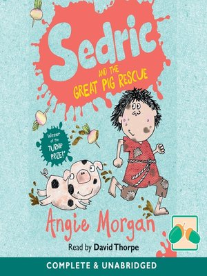 cover image of Sedric and the Great Pig Rescue