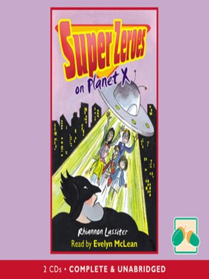 cover image of Super Zeroes on Planet X