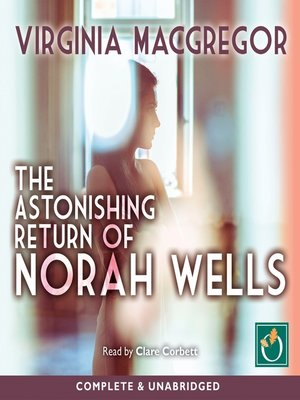 cover image of The Astonishing Return of Norah Wells