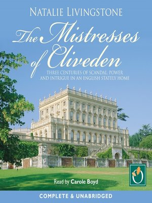 cover image of The Mistresses of Cliveden