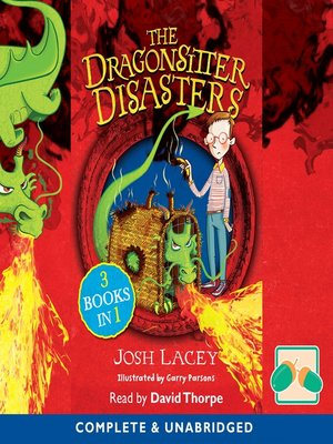 cover image of The Dragonsitter Disasters