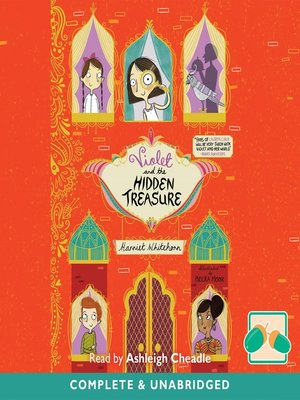 cover image of Violet and the Hidden Treasure