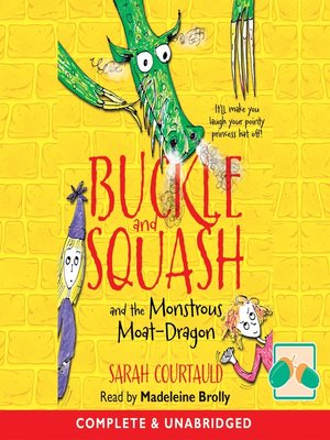 cover image of Buckle and Squash and the Monstrous Moat-Dragon