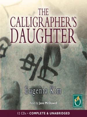 cover image of The Calligrapher's Daughter