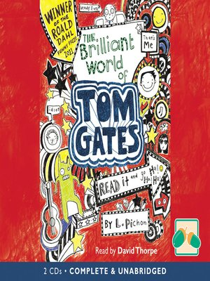cover image of The Brilliant World of Tom Gates