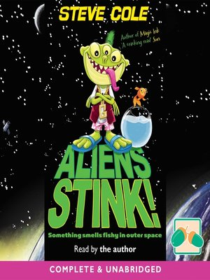 cover image of Aliens Stink!
