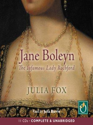 cover image of Jane Boleyn
