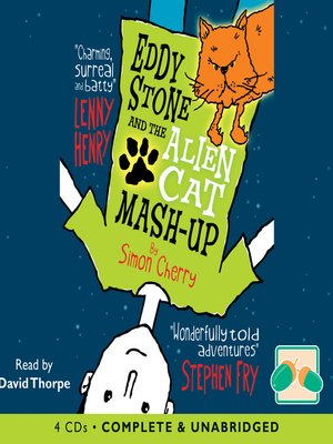 cover image of Eddy Stone and the Alien Cat Mash-Up