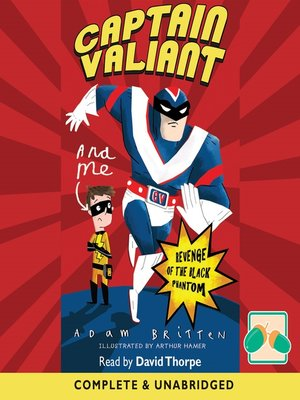 cover image of Captain Valiant & Me