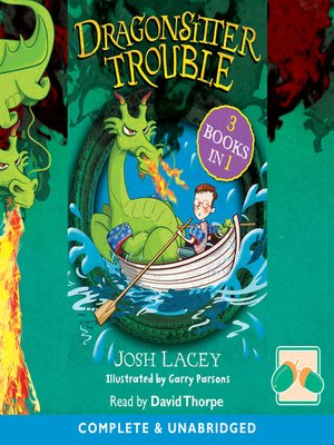 cover image of Dragonsitter Trouble