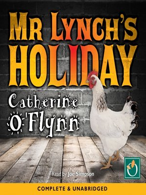 cover image of Mr Lynch's Holiday