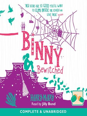 cover image of Binny Bewitched