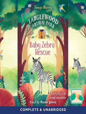 cover image of Baby Zebra Rescue