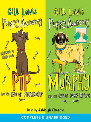 cover image of Pip and the Paw of Friendship / Murphy and the Great Surf Rescue