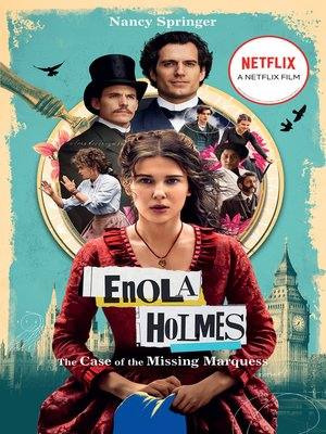 cover image of Enola Holmes: The Case of the Missing Marquess