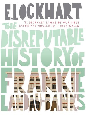 cover image of The Disreputable History of Frankie Landau-Banks