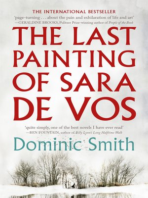 cover image of The Last Painting of Sara de Vos