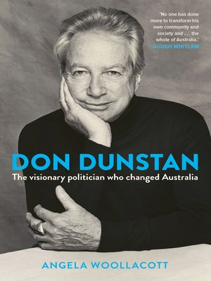 cover image of Don Dunstan