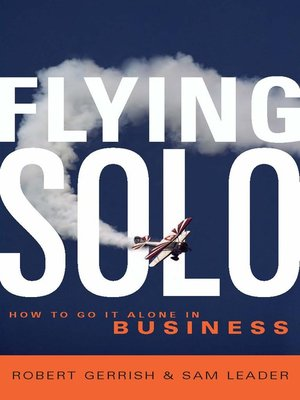 cover image of Flying Solo