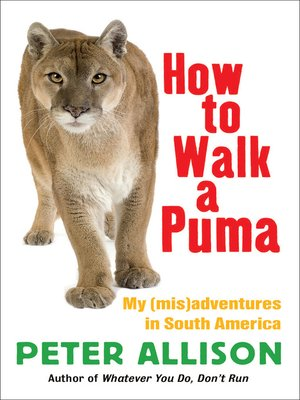 cover image of How to Walk a Puma