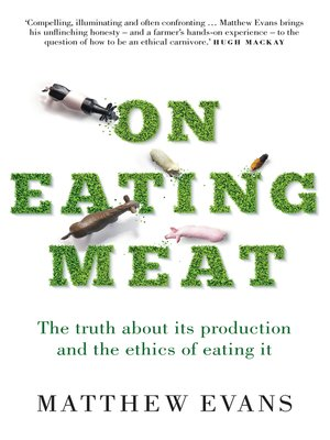cover image of On Eating Meat